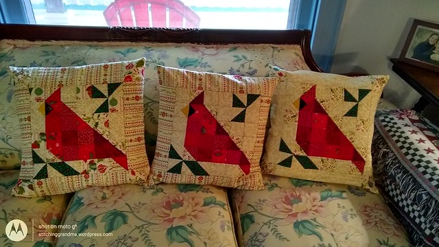 Three cardinals finished