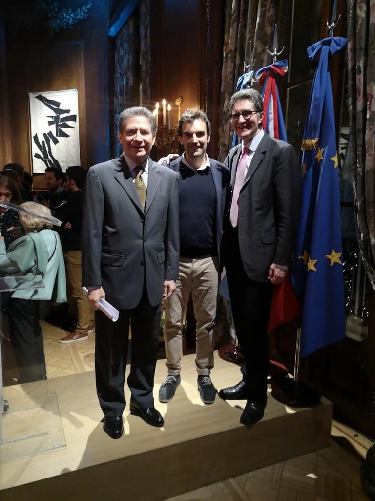 San Juan en la Embajada Argentina de Francia