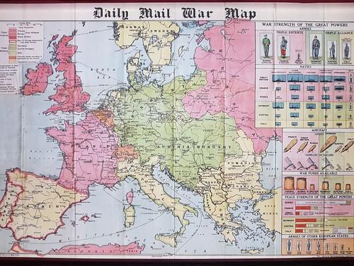 Mapa 1a Guerra Mundial