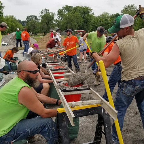 Rocheport, Missouri Sandbagging