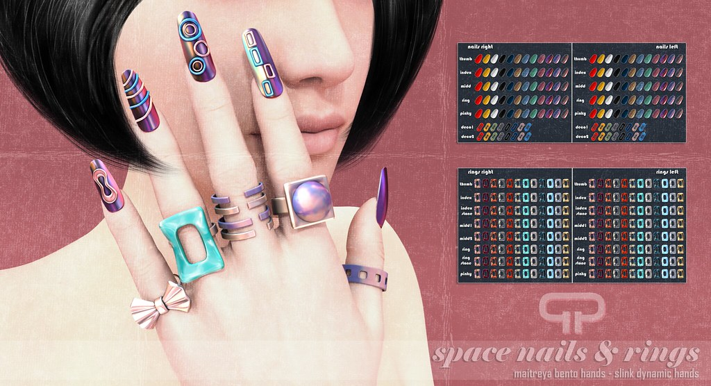 Pure Poison – Space Nails & Rings AD