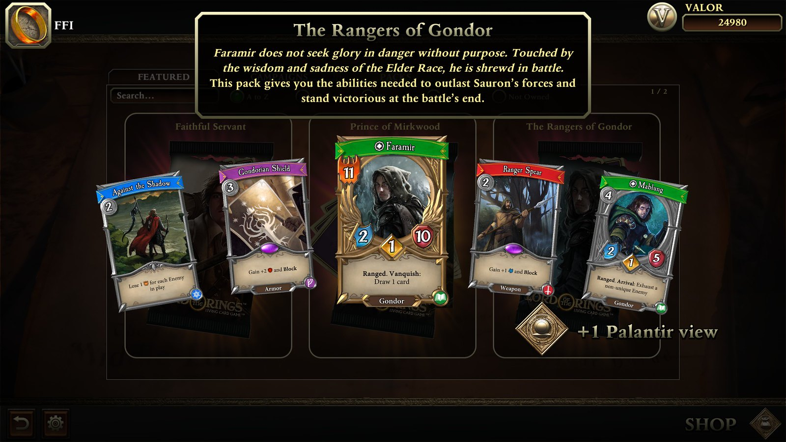 The Lord of the Rings: Adventure Card Game