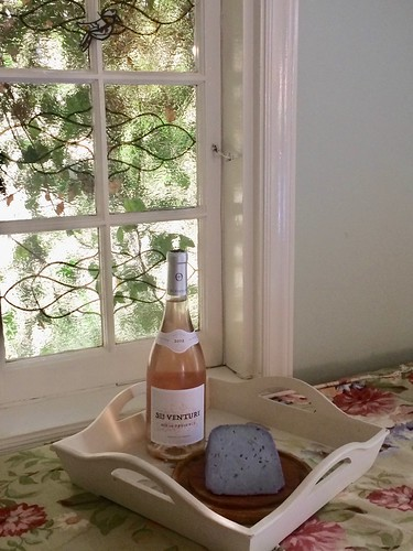 Celebrating Rose Day with a Provence Rosé and a Lavendar Cheese