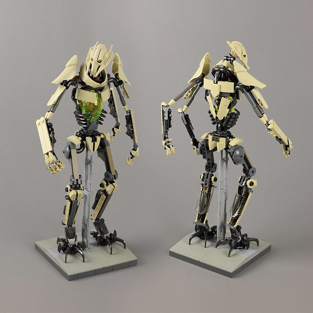 General Grievous Lego replica