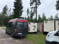 Kabelfeilsøking med Omexom ved Gardermoen.