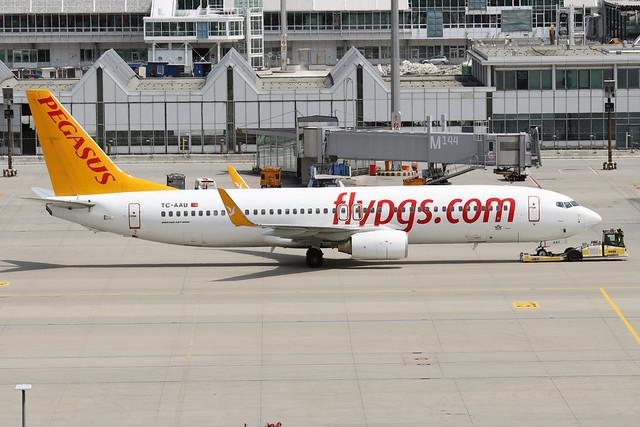 TC-AAU  -  Boeing 737-82R (WL)  -  Pegasus Airlines  -  MUC/EDDM 6-6-19