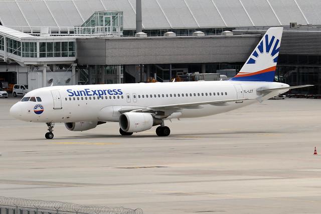 YL-LCT  -  Airbus A320-214  -  Sun Express  -  MUC/EDDM 6-6-19