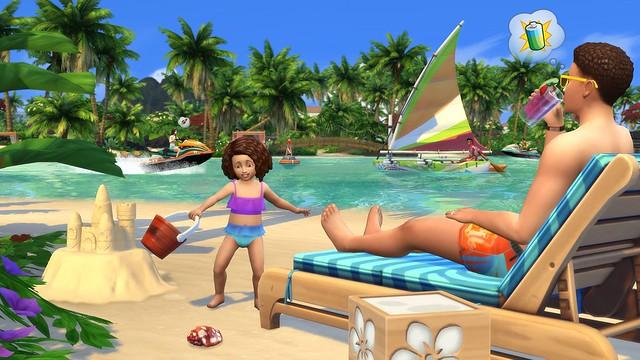 Sims 4 Ilhas Tropicais Informações