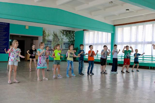 """П'ятий день роботи табору """"Берізка"""". Танці, 07.06.19"""