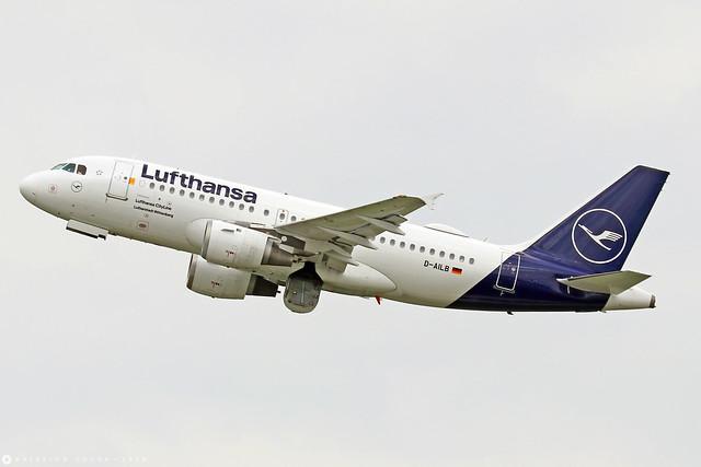 D-AILB  -  Airbus A319-114  -  Lufthansa  -  MUC/EDDM 6-4-19
