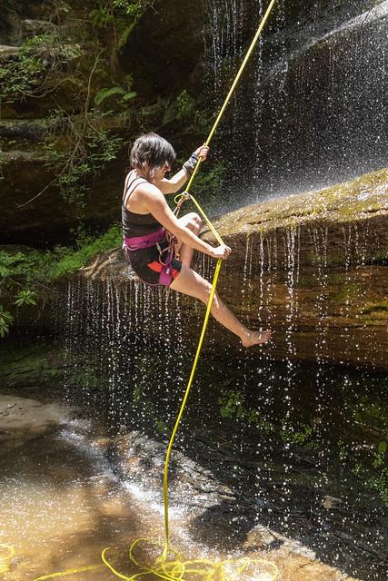 Rachel Saker, Crystal Falls, Pickett SP, Pickett County, Tennessee