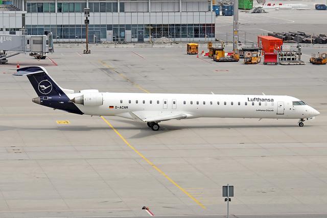 D-ACNM  -  Bombardier CRJ900LR  -  Lufthansa Cityline  -  MUC/EDDM 6-6-19