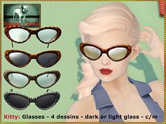 Bliensen - Kitty - Vintage Glasses