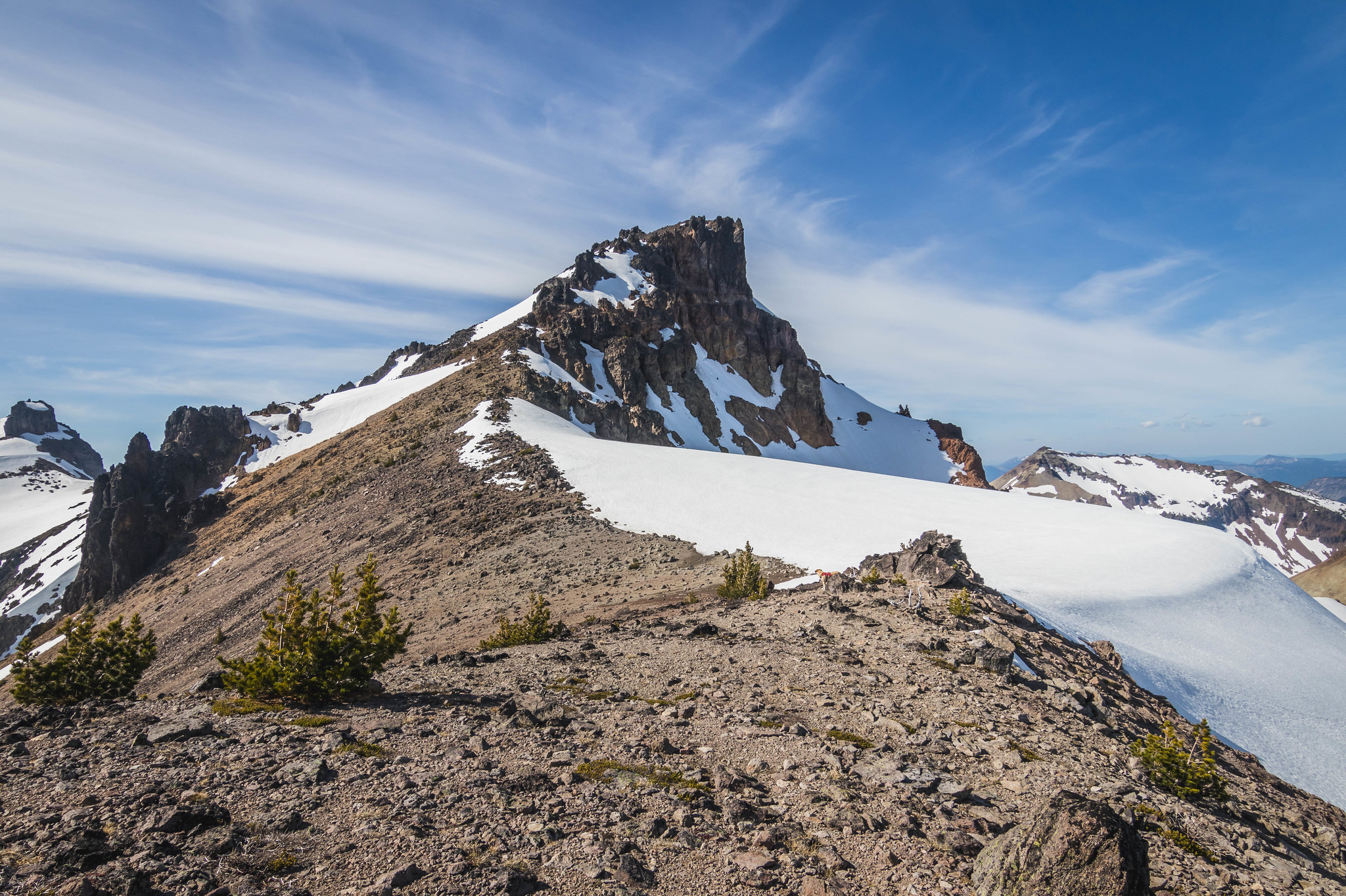 Gilbert Peak patiently awaits