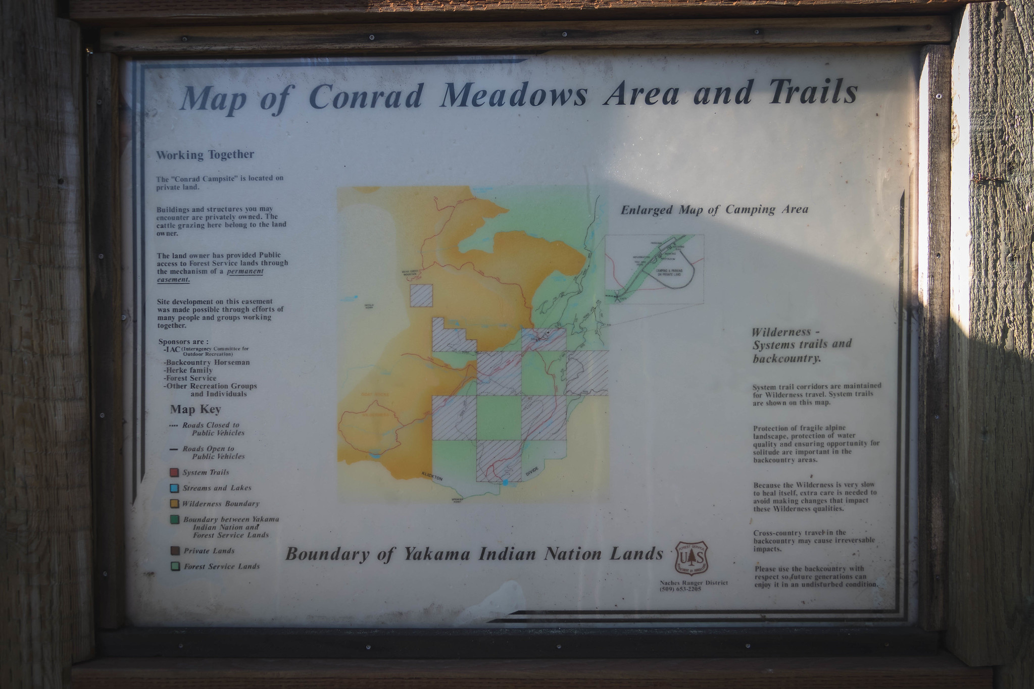 Conrad Meadows Trailhead