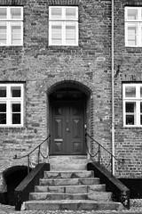 Viborg - En trappe BW