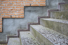 Viborg - En mur og en trappe