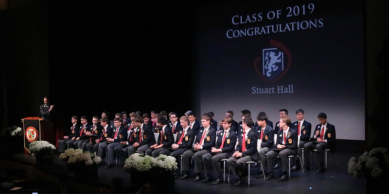 Stuart Hall for Boys Graduation 2019