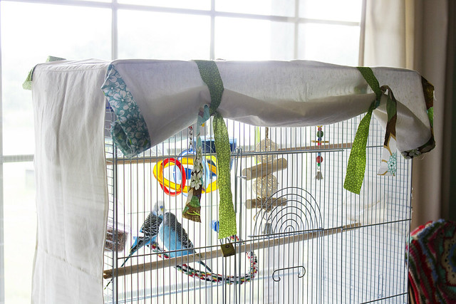 Best Sewing Ideas for Pets - Bird Cage Cover