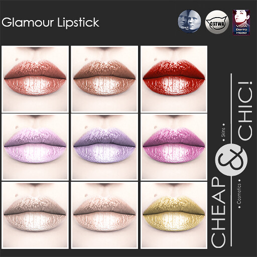 Cheap & Chic! Glamour Lipstick
