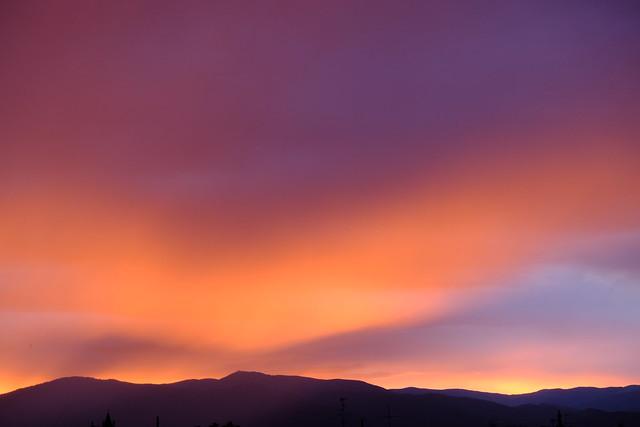Vosges sunset 1