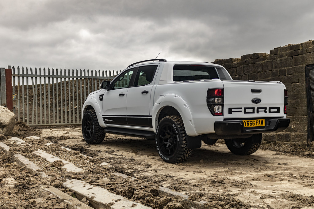 2019 Ford Ranger On Black Rhino Overland 20 Inch Truck Whe Flickr