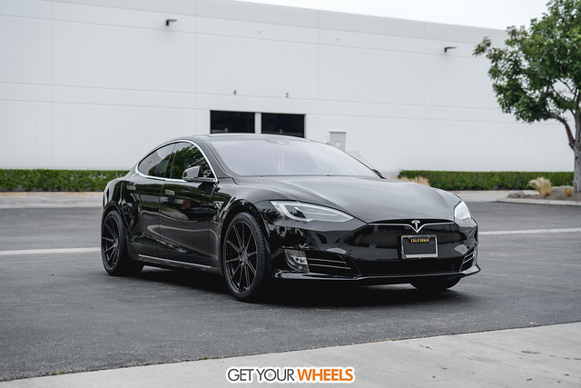 Tesla Models S - Vertini RF1.3 Gloss Black Tinted Face