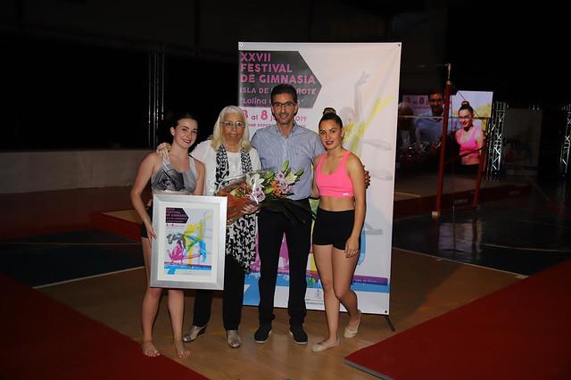 Clausura  XXVII Festival de Gimnasia Isla de Lanzarote 'Lolina Curbelo