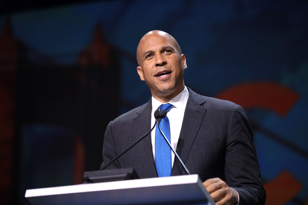 Cory Booker | U.S. Senator Cory Booker speaking with attende… | Flickr