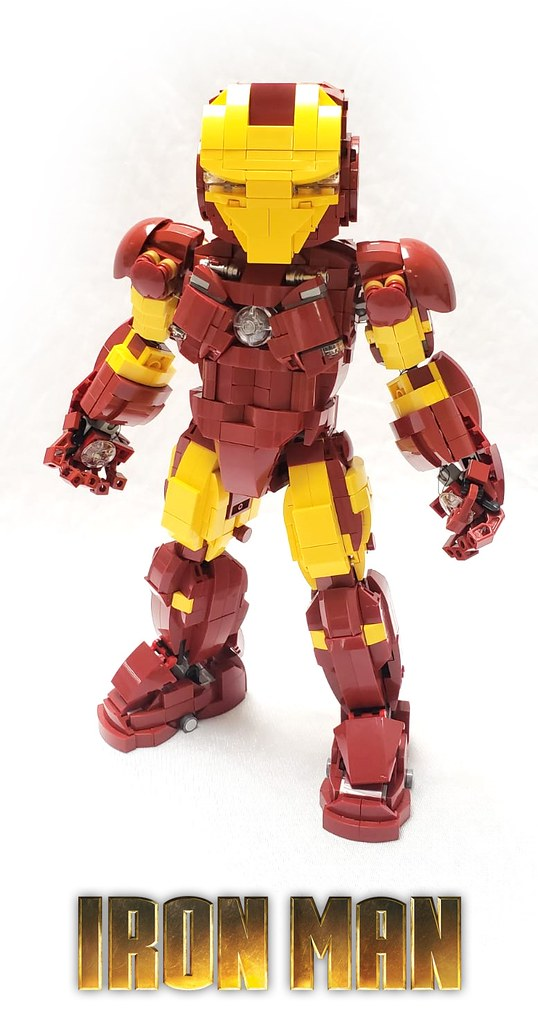 Proudly present my latest work LEGO IRONMAN! 😎