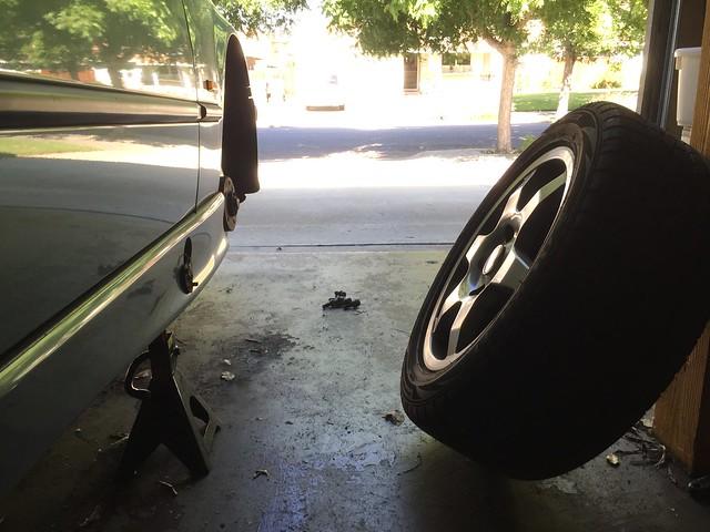 Rotating wheels