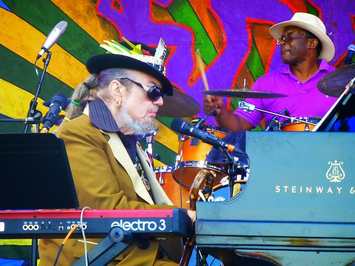 Dr. John at Jazz Fest 2015. Photo by Louis Crispino.