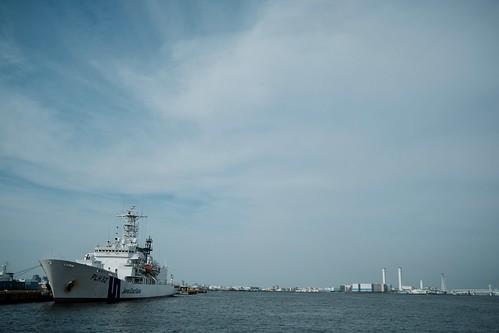 Yokohama bay blue