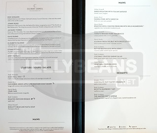Holland America Nieuw Amsterdam - The Dining Room: Dinner Menu May 27, 2019 | by TheJellyBeans.net