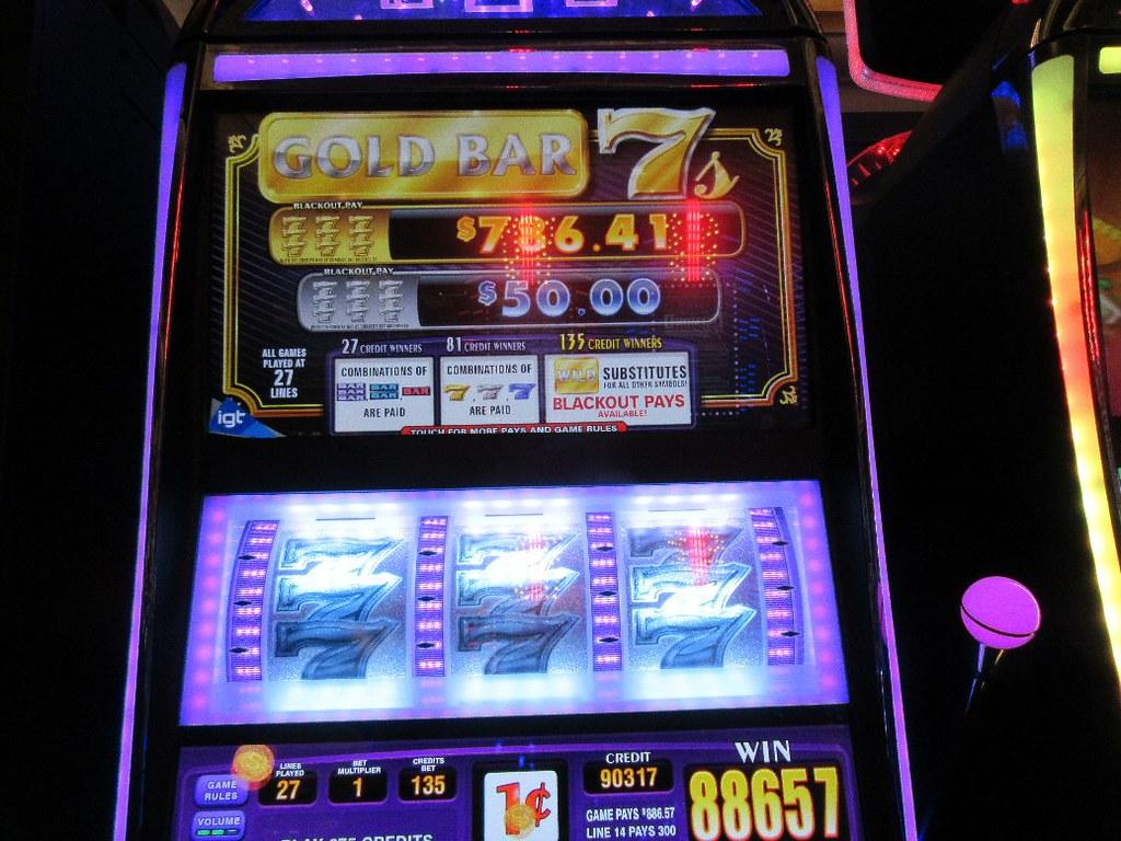 WIn33 Gold Bar 7s