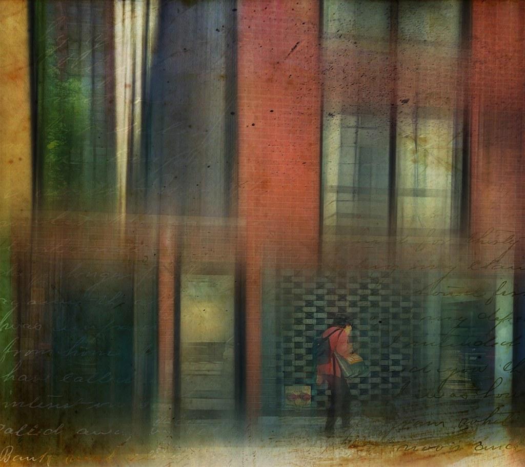 she walks the city streets.....
