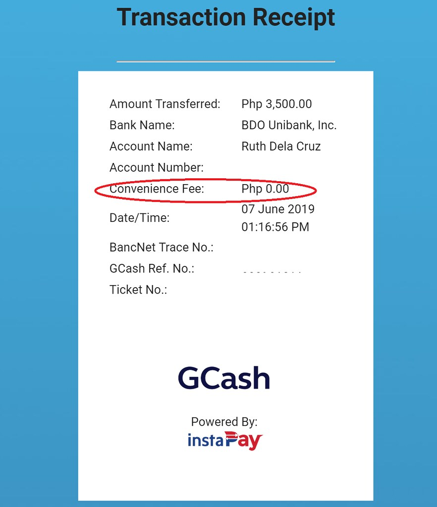 GCASH Instapay to Banks: