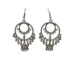 Oxidised Dangler Jhumki Earrings for Girls