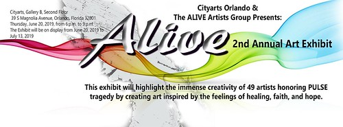"The Alive Artist's Group presents ""Vision"""