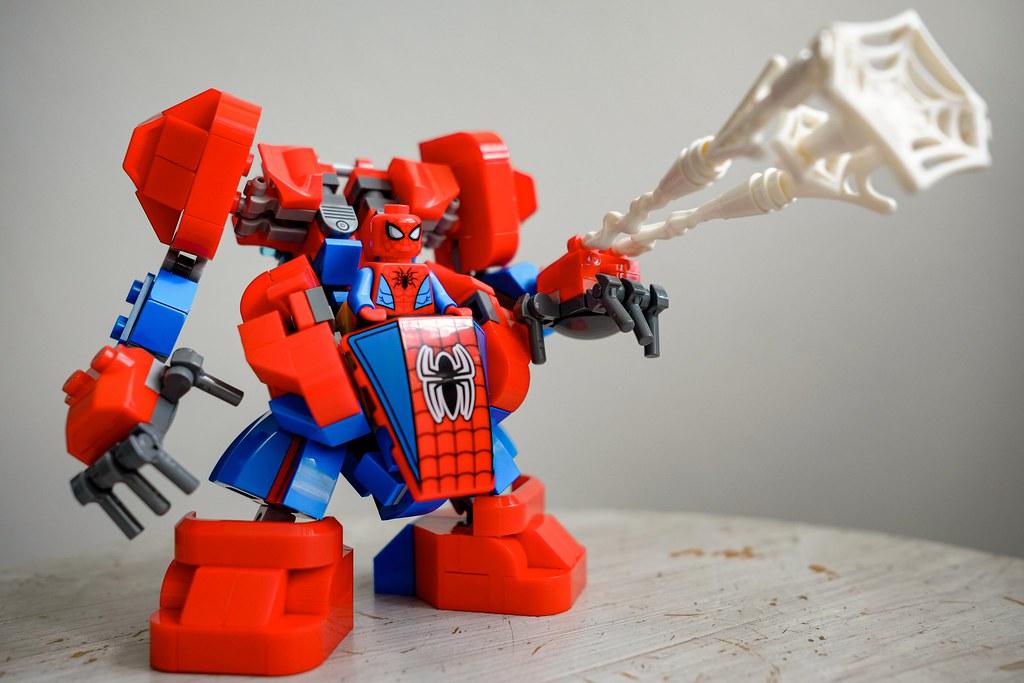 Spider Mech MOC