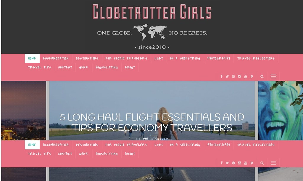 GlobetrotterGirls - One Globe. No Regrets.