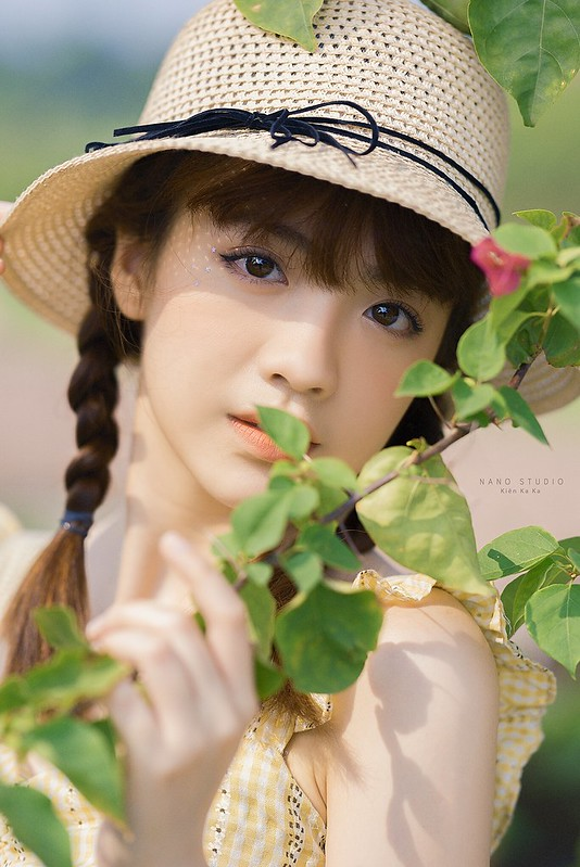 stock chân dung girl cute