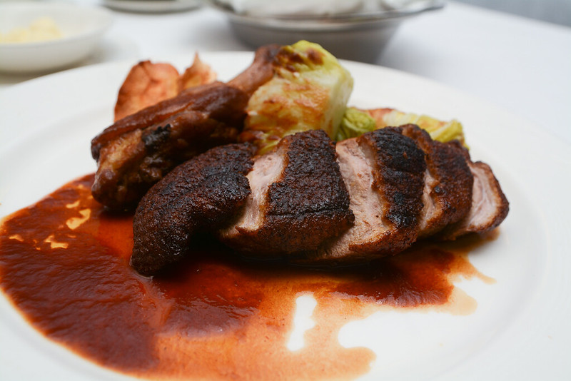 Crispy Roasted Duck Breast