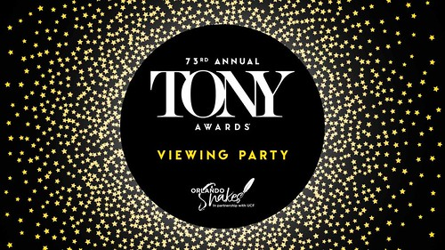 Tony Awards Viewing Party at Orlando Shakes – FREE