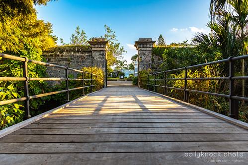 travel bridge fort hamilton forthamilton bermua sunset