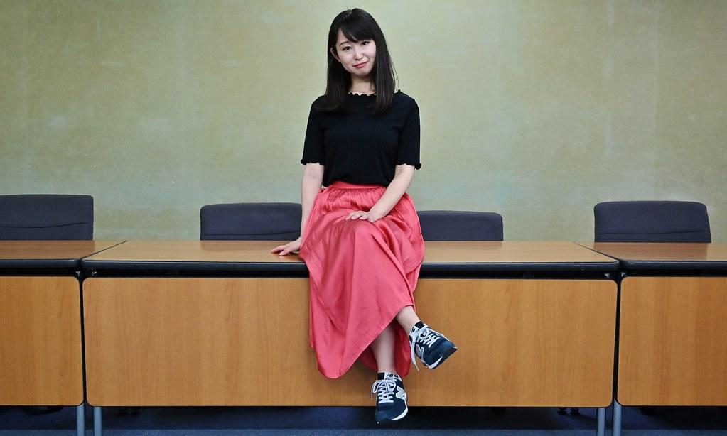 發起「#Kutoo」運動的演員石川優實。(圖片來源:Charly Triballeau/Getty Images)