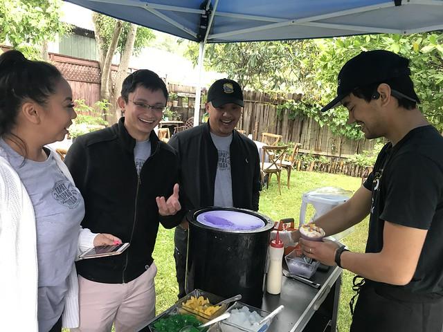 Tan Family Reunion - Halohalo bar