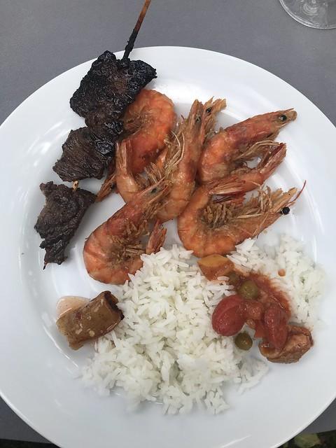 Tan Family Reunion-- food plate