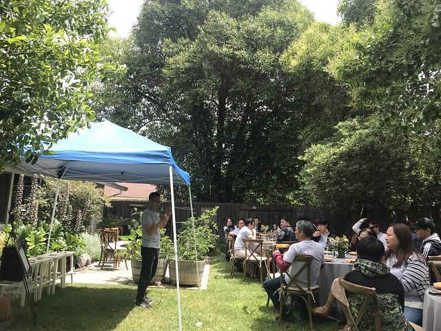 Tan Family Reunion - garden party