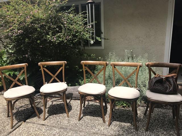 Tan Family Reunion - chairs
